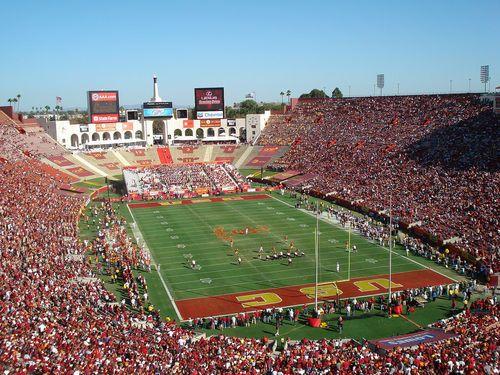 La Coliseum University Of Southern California Nosebleed