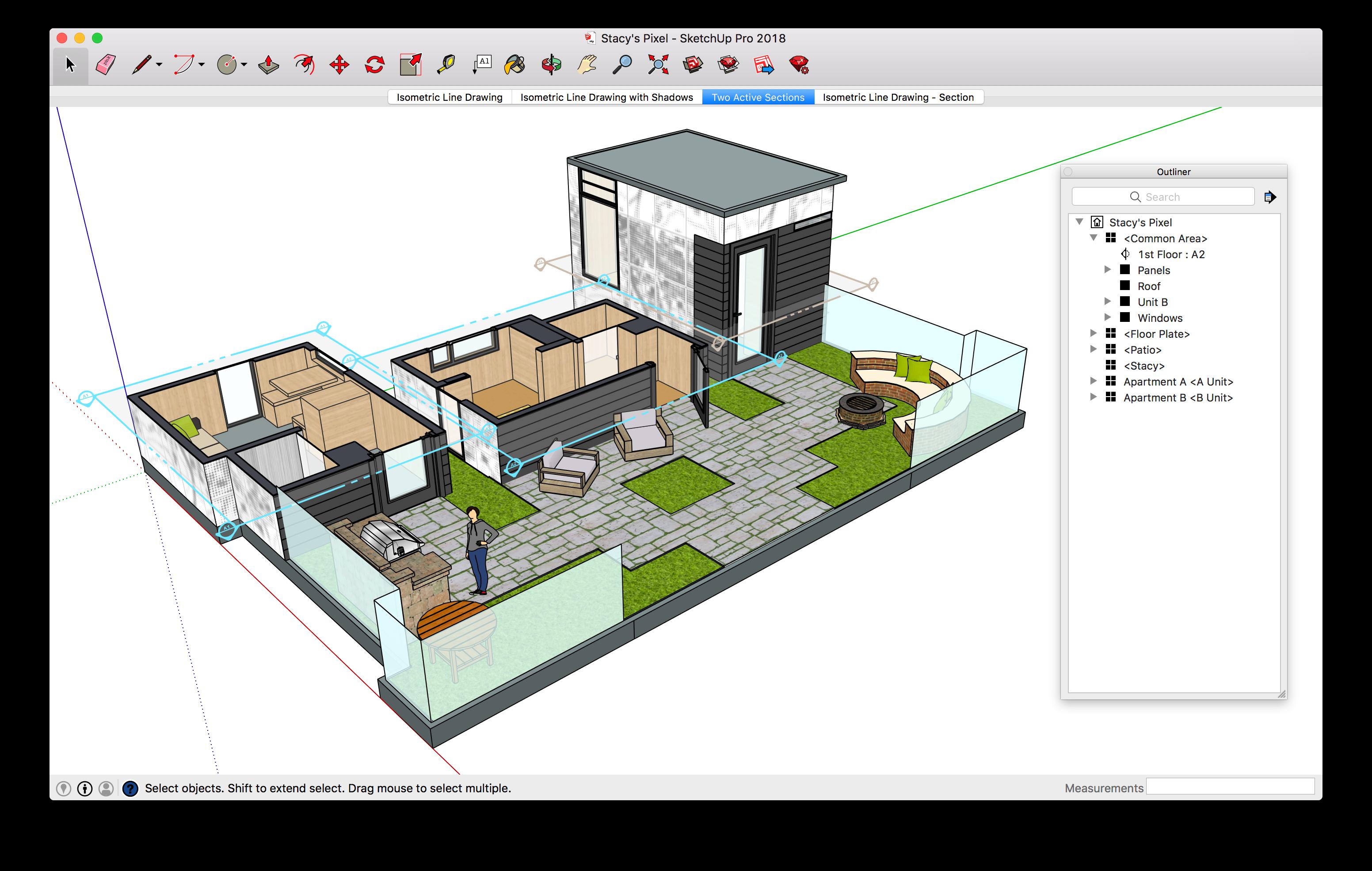 Google New 2018 Sketchup Pro Architecture Model Architecture