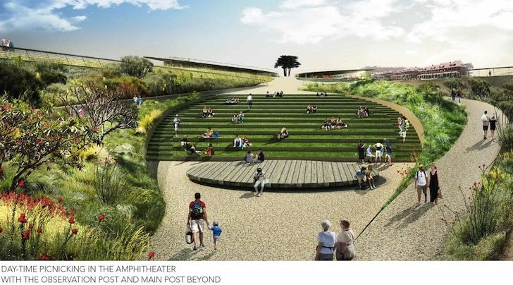 Five Major Landscape Architecture Firms Unveil Competing