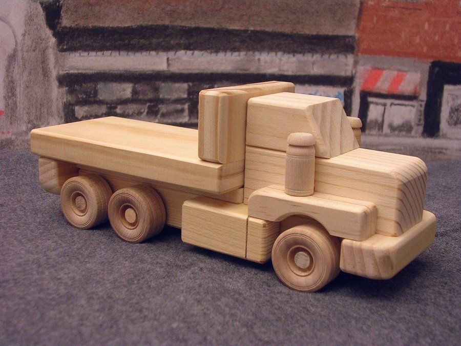 wooden toy truck wooden toys pinterest holzspielzeug spielzeug und holz. Black Bedroom Furniture Sets. Home Design Ideas