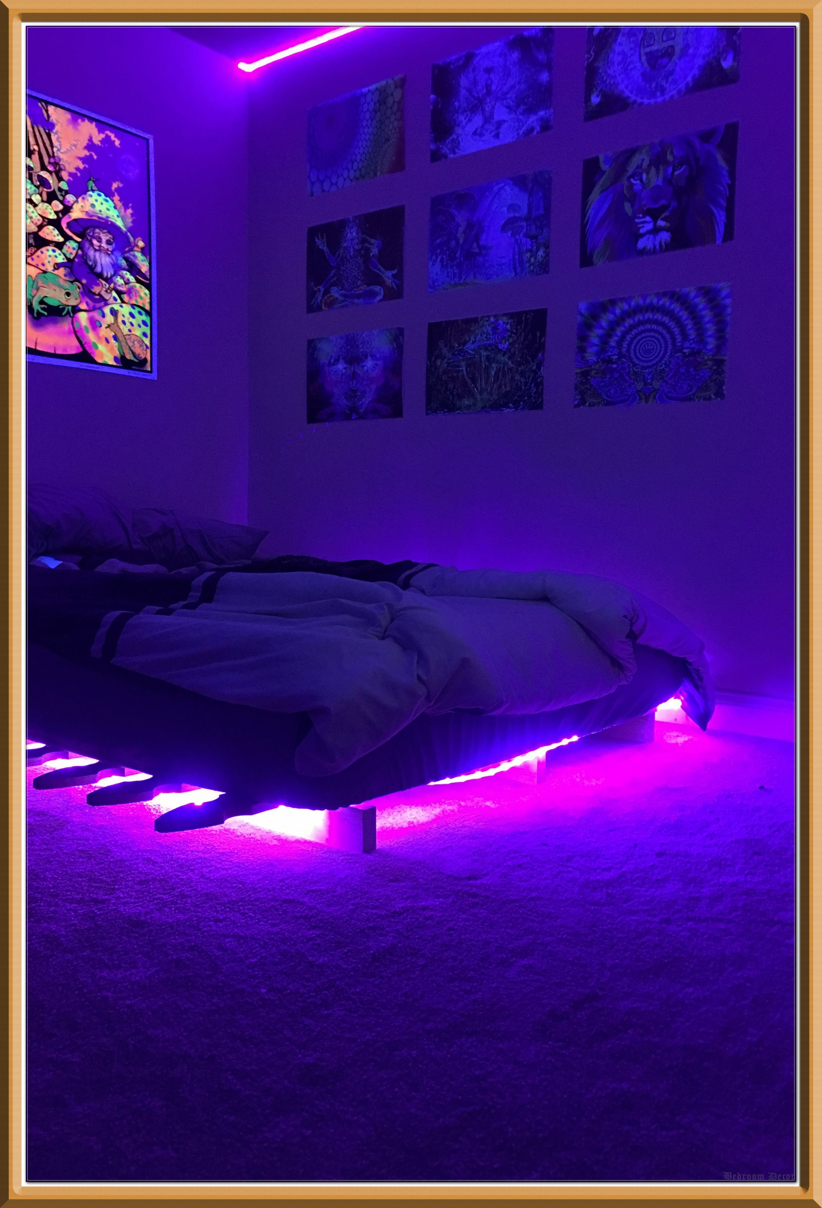 How To Buy A Bedroom Decor On A Shoestring Budget Dream Rooms Dream Rooms For Teens Neon Room