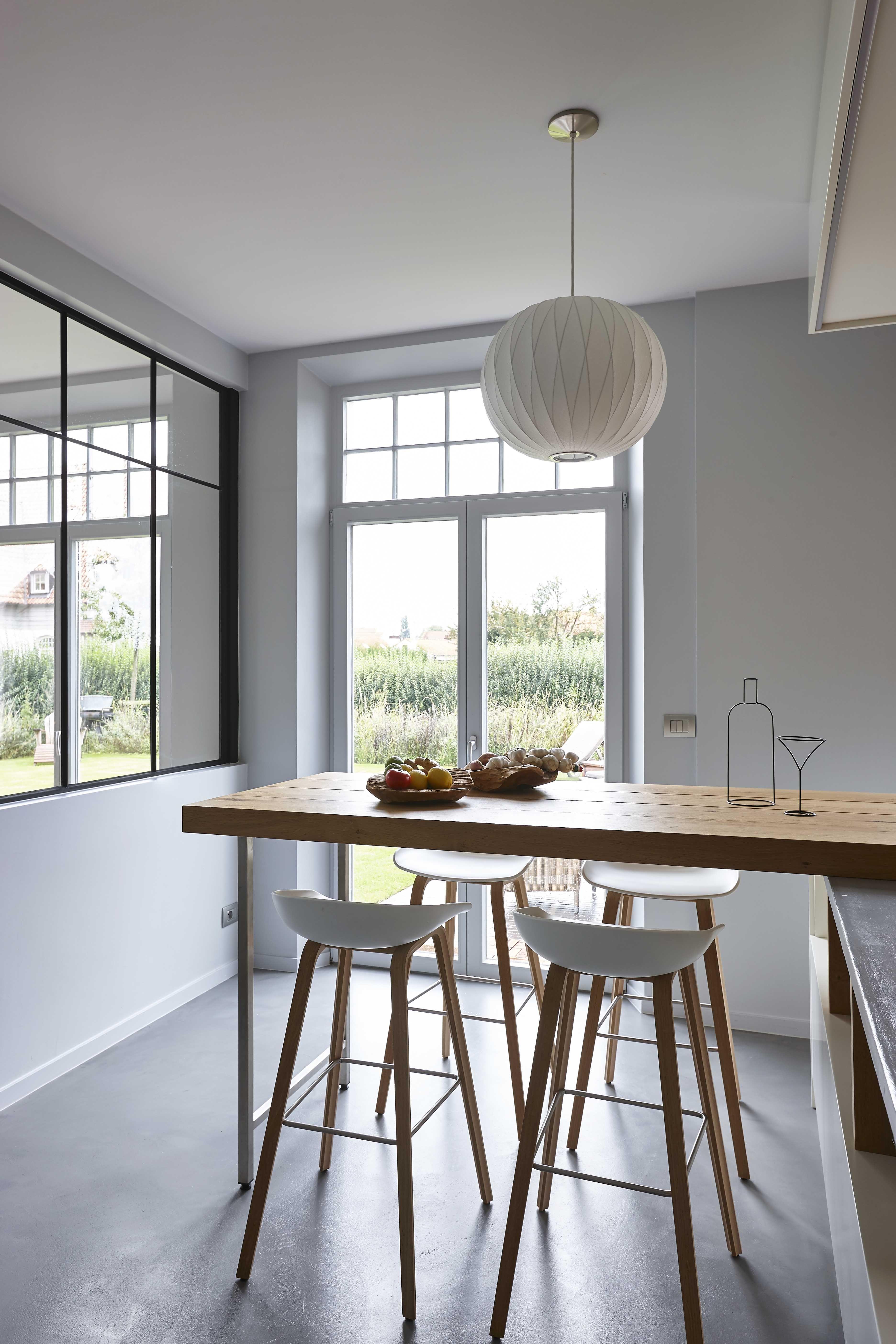 Architecte D Intérieur En Belgique cuisine design bois et béton dans une maison en belgique