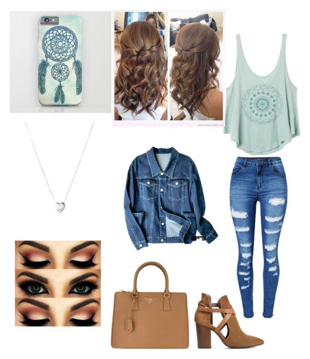 """~Date Cute~"" by solieldawnmarie on Polyvore featuring RVCA, WithChic, H London, Prada and Links of London"