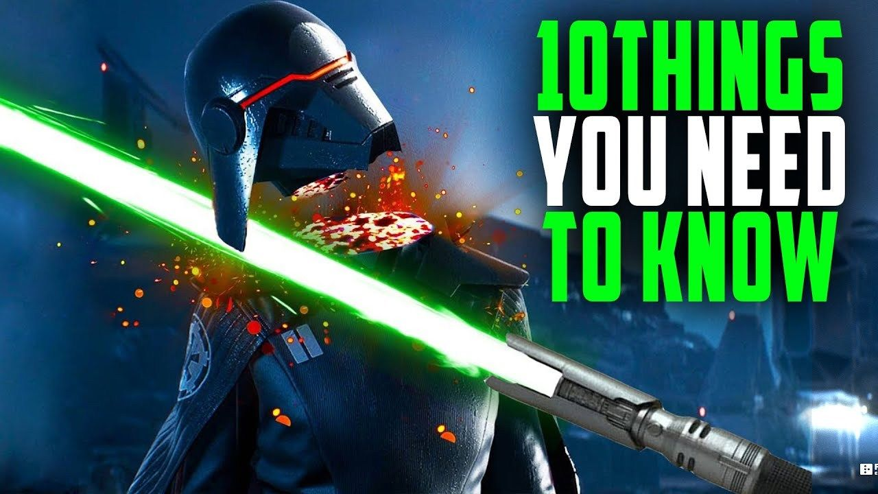 Star Wars Jedi Fallen Order 10 Things You Need To Know Before Your Buy Star Wars Jedi Jedi Star Wars