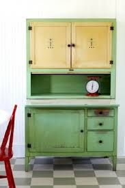 Image result for Scheirich Hoosier Style cabinet with tip ...
