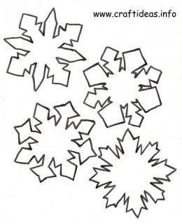 Diy Snowflake Crafts  Snowflake Pattern Patterns And Felting