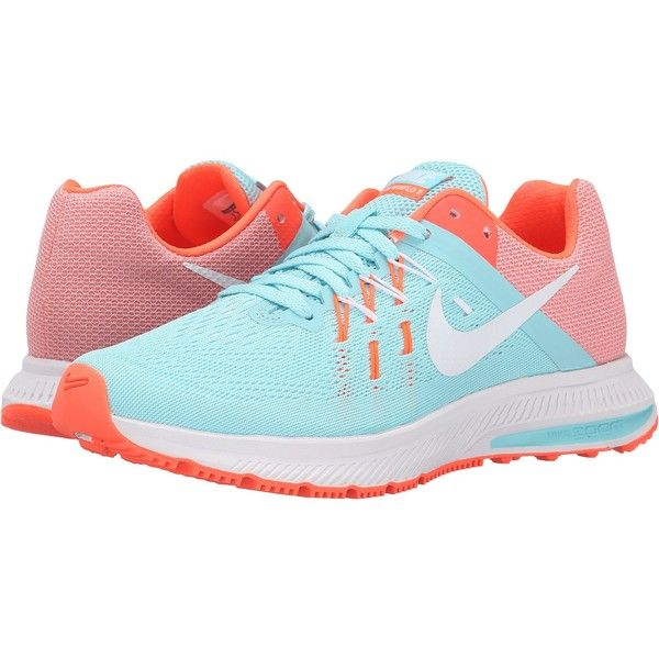 Womens Shoes Nike Zoom Winflo 2 Copa/Hyper Orange/White/White