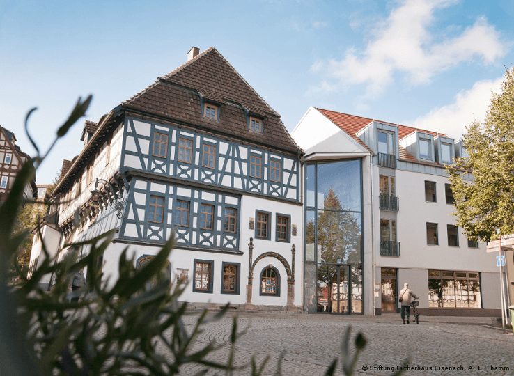 The Luther House Museum in Eisenach is rich with details about this life and works.