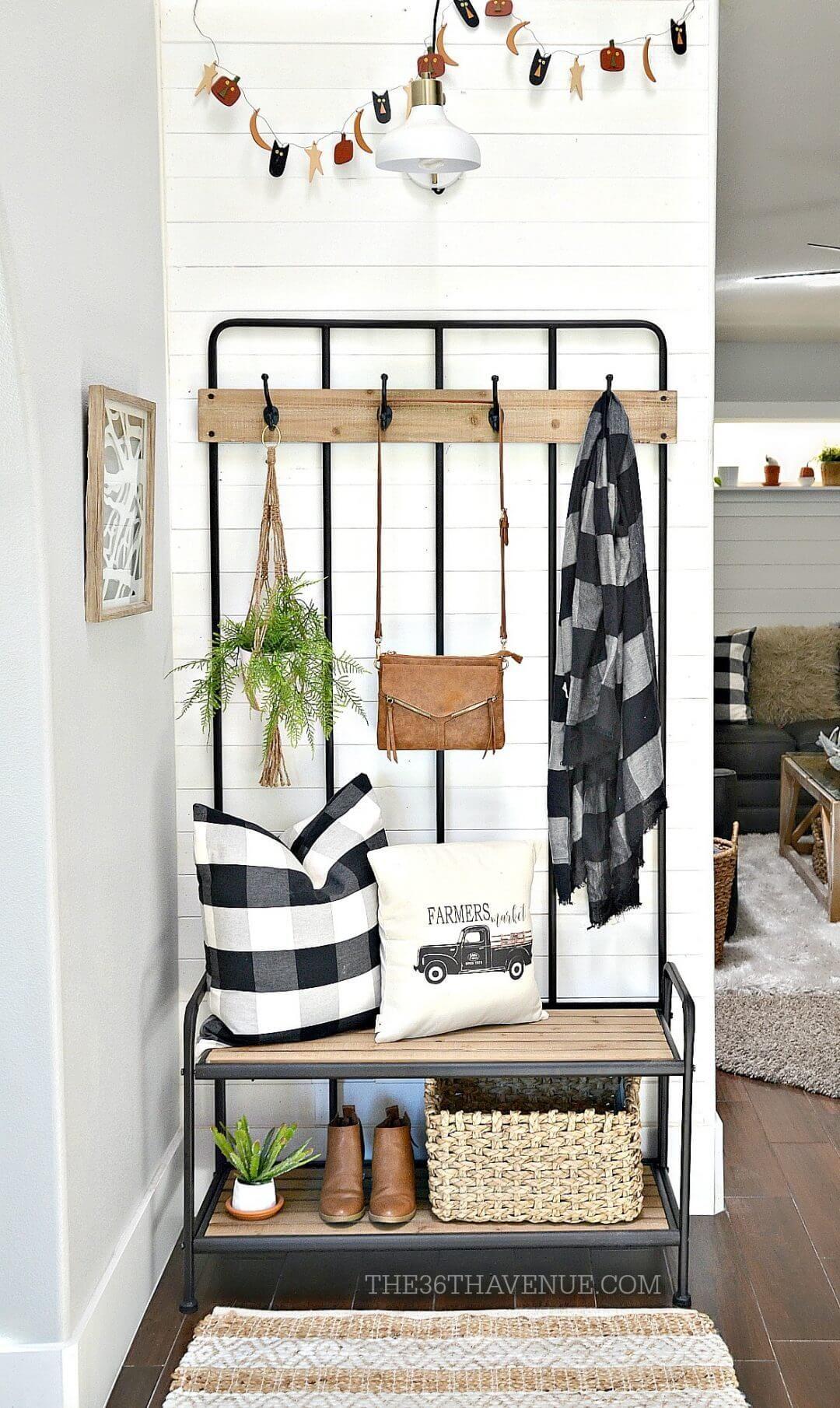 Photo of 28 Attraktive Dekorationsideen für kleine Eingänge Sie zu Hause zu begrüßen