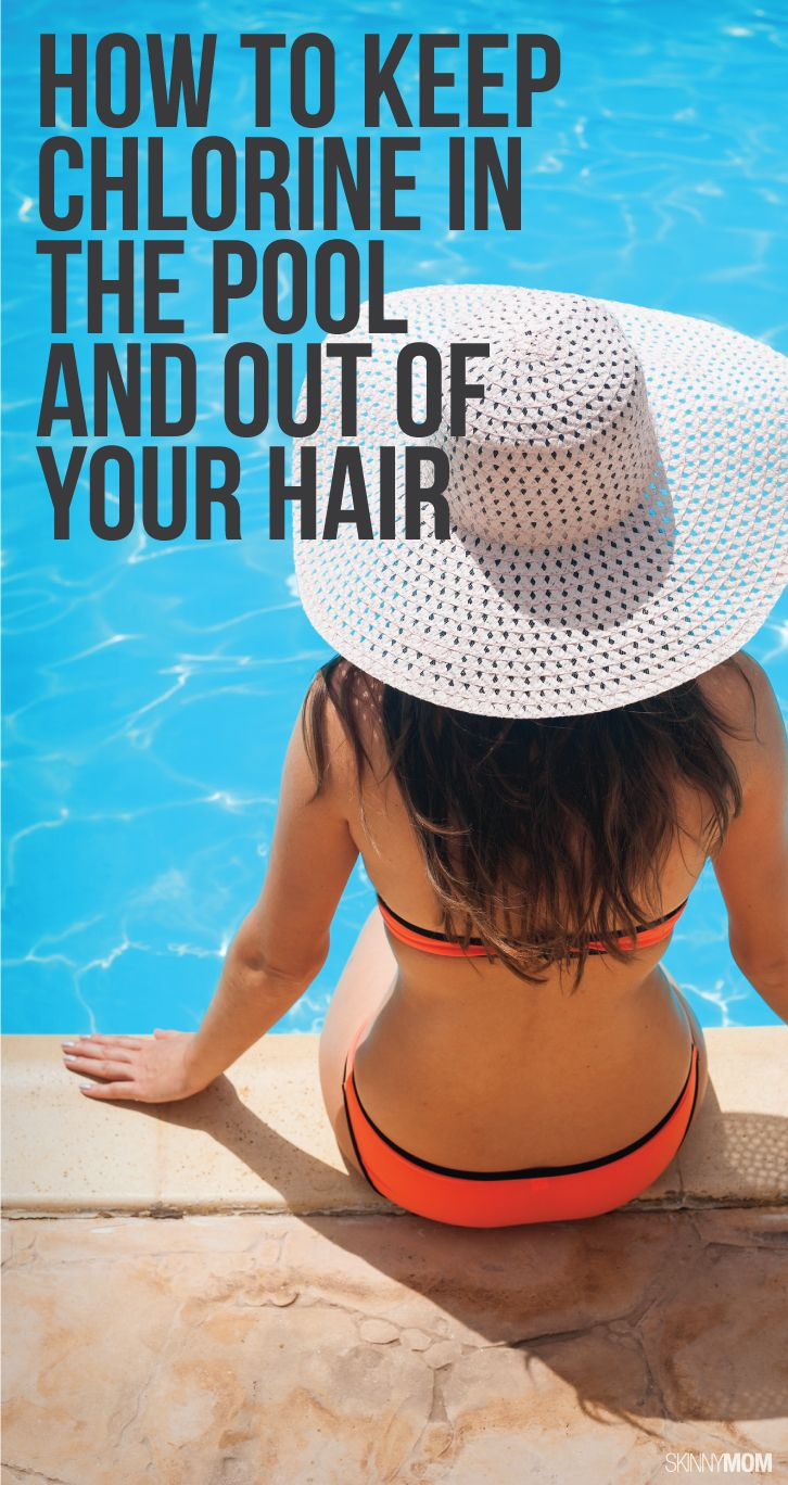 7 Tips to keep the chlorine out of your hair this summer.