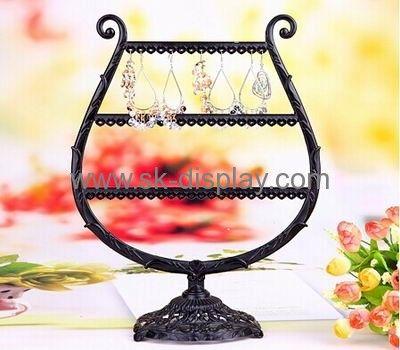 antique metal earring display stands JD-018