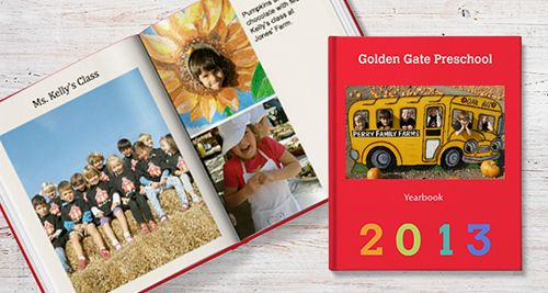 make your own yearbook