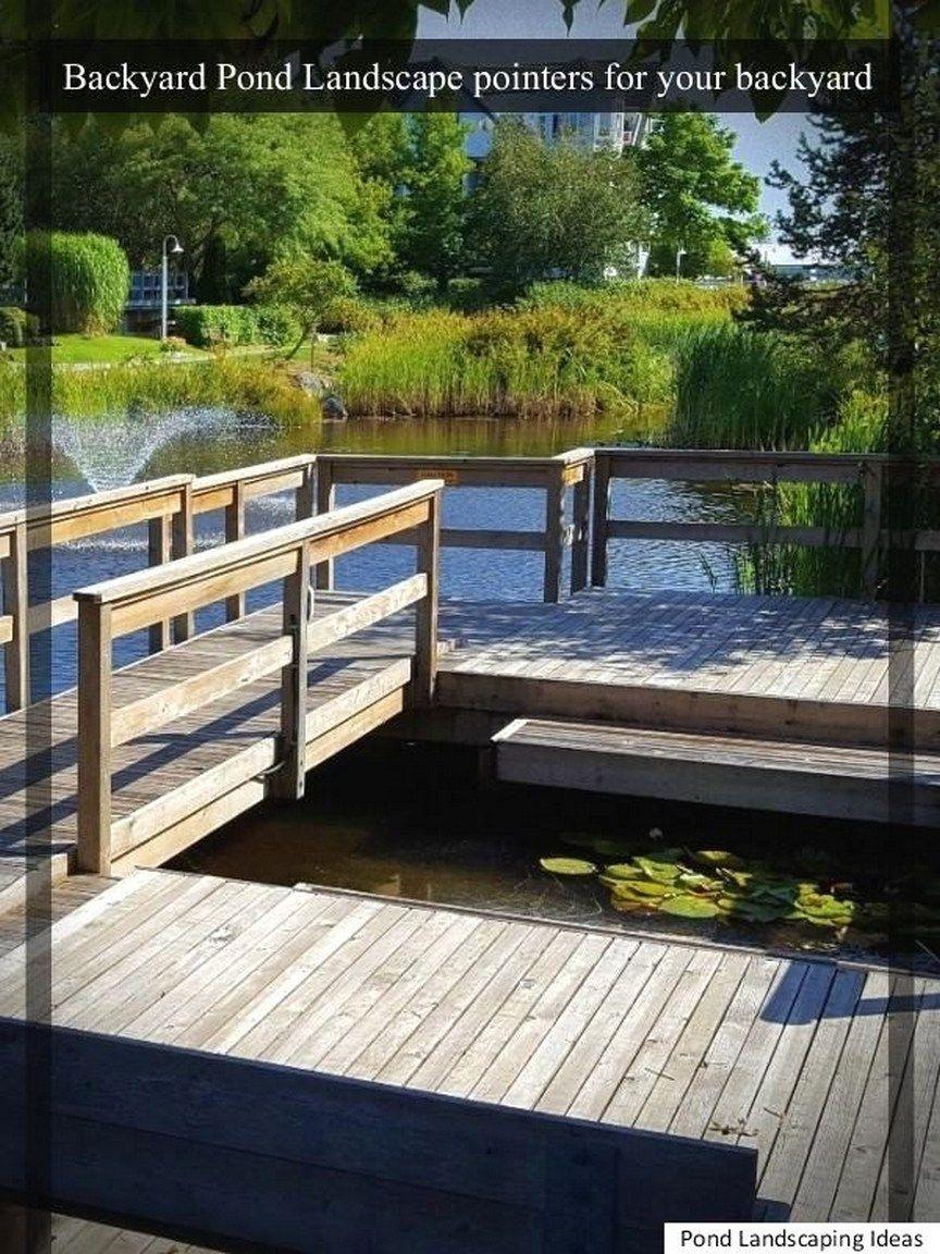 90 Low Maintenance Backyard Design Ponds Backyard Pond 400 x 300