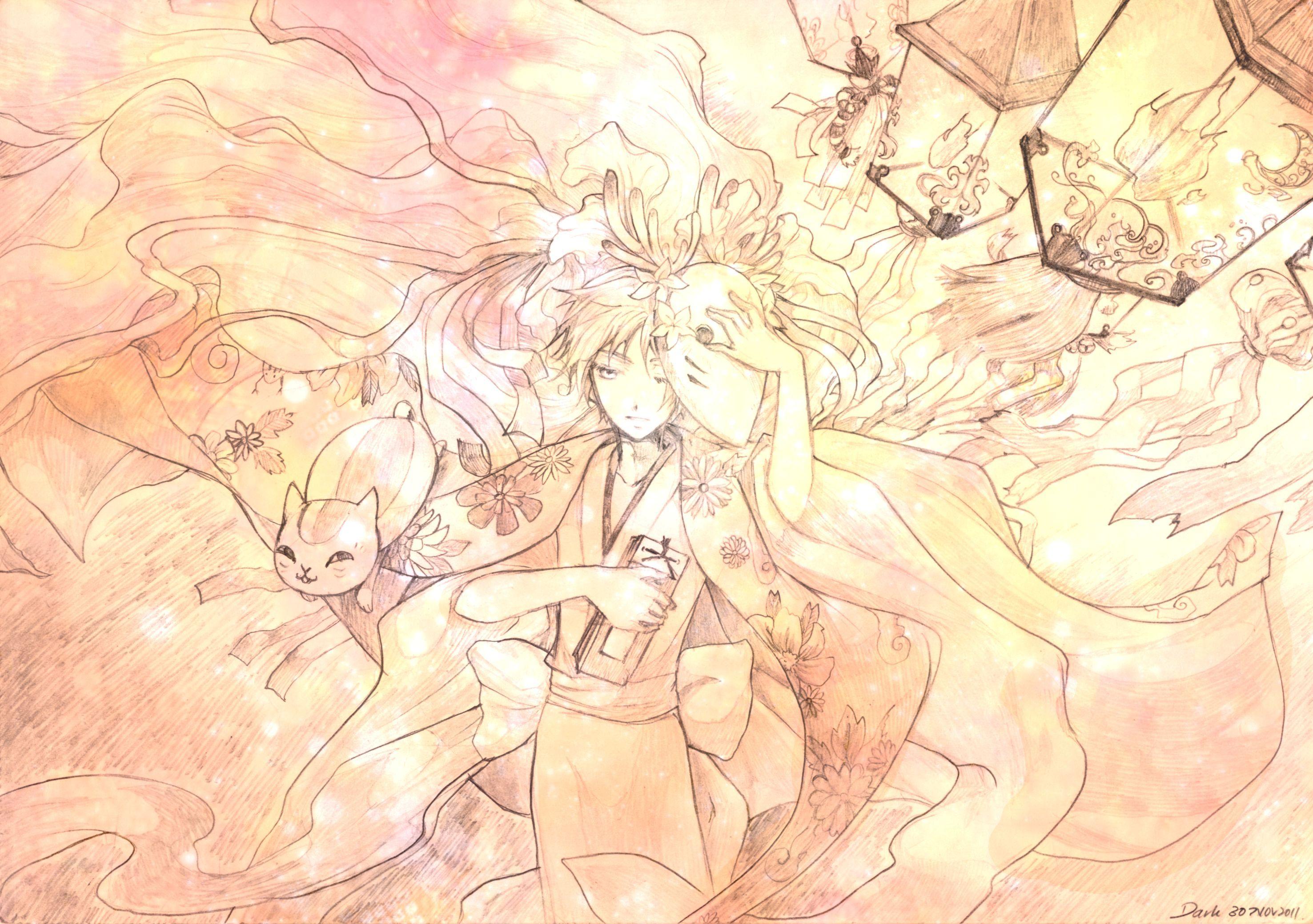 「La Bella Canzone」/「dark」のイラスト [pixiv] | Natsume Yuujinchou | Brain's Base | Yuki Midorikawa