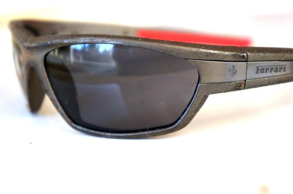 Ferrari Men S Fr48 Designer Sporty Sunglasses Made In Italy Sporty Sunglasses Sunglasses Sunglasses Accessories