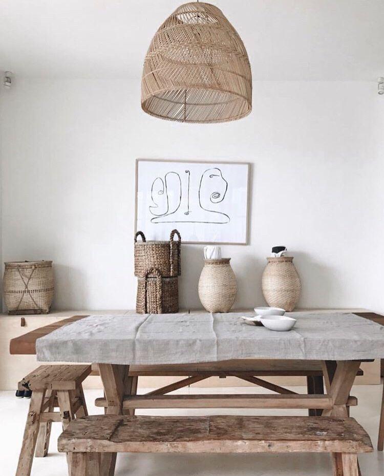 Una villa familiar de aire muy natural en bal living for Casa mendoza muebles villa martelli