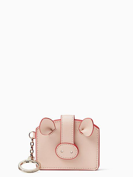 604321df030 Kate Spade Year Of The Pig Pig Card Case, Warm Vellum | Products ...