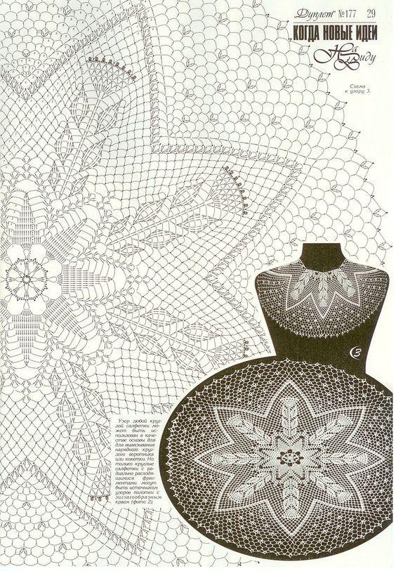 Kira scheme crochet: Scheme crochet no. 1793 | Doilies | Pinterest ...