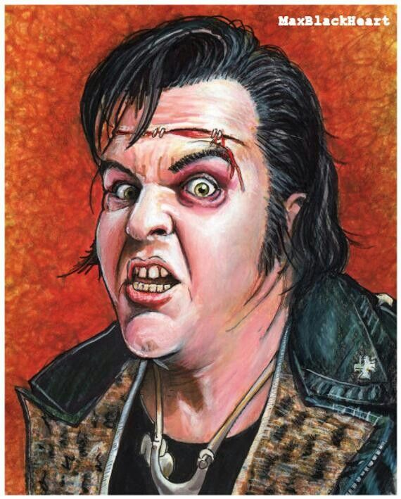 Meatloaf as Eddie • The Rocky Horror Picture Show | Rocky ...
