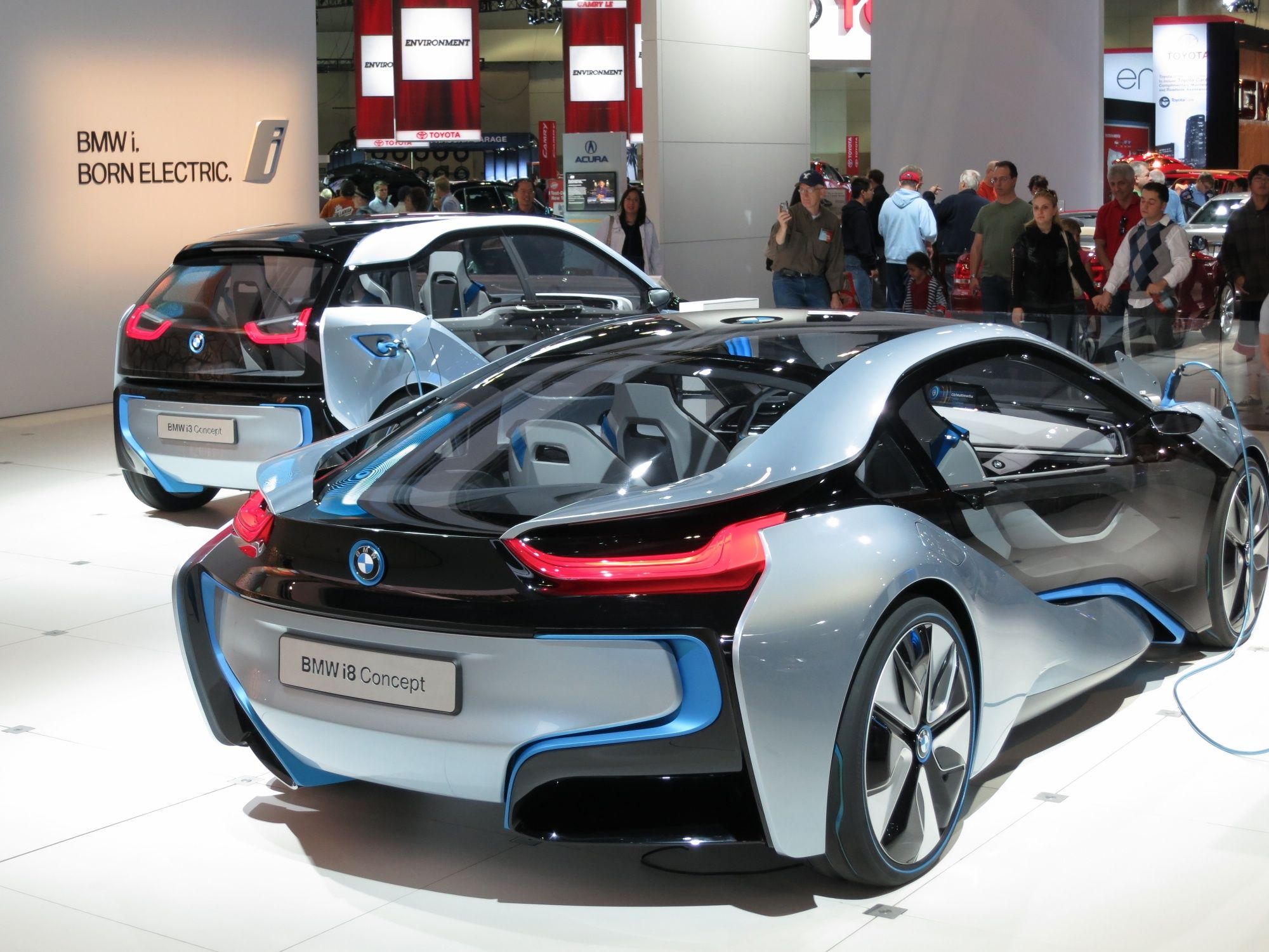 Electric Cars Two New Bmw Electric Cars With Images Electric