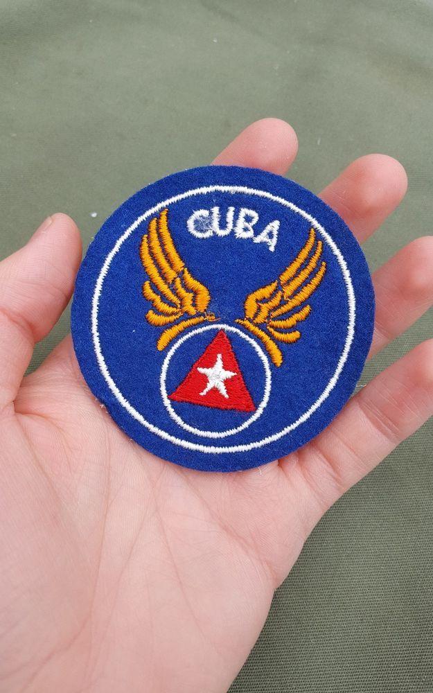 WWII US Army Air Force Cuba Cuban Air Force pilot felt