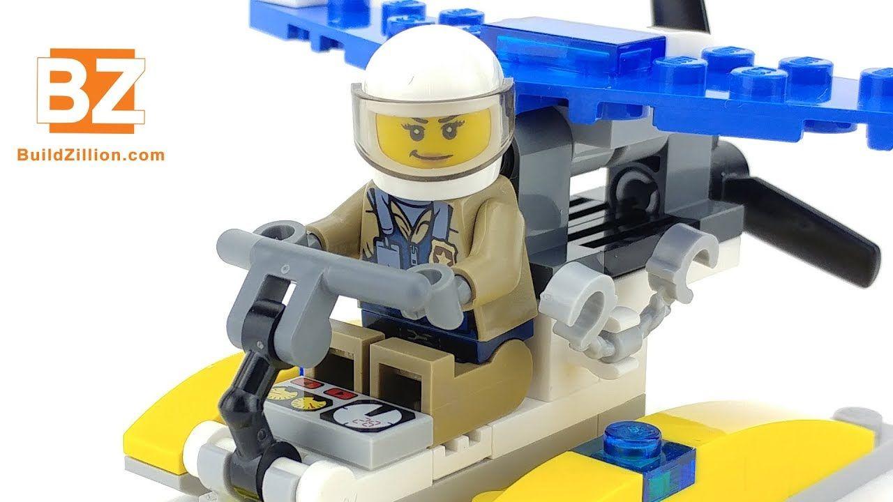 Police Water Plane - LEGO City 30359 - LEGO Speed Build