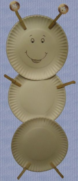 Ant Labor Day Paper Plate Craft #labordaycraftsforkids Ant Labor Day Paper Plate Craft #labordaycraftsforkids