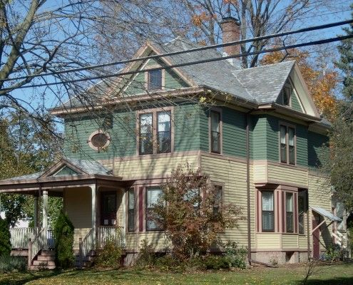 New Colors For Late Victorian Style House Custom Schemes By Historic Ann Arbor Michigan