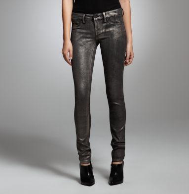 Foil Denim Jeans. Kenneth Cole Collection. #ElizabethArden #BeautifulToMe