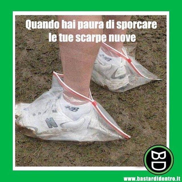 Così possono durare degli anni! #bastardidentro #scarpe #sacchetto www.bastardidentro.it