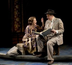 Louise Pitre and Keith Kupferer in Chicago Shakespeare's production of GYPSY. Photo by Michael Brosilow.