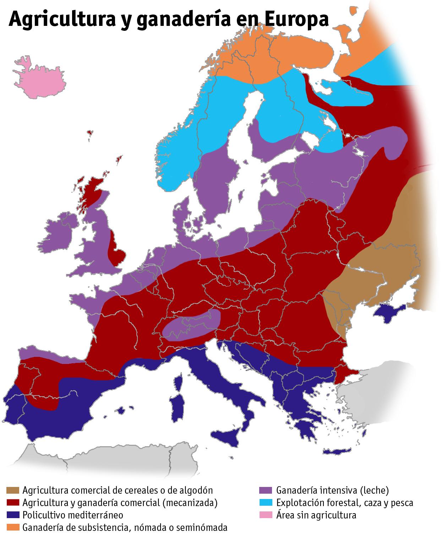 File Agricultura Ganaderia Europa Png Mapa