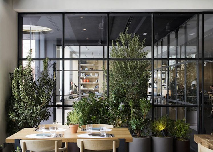 The Ana La Santa In Madrid Offers Guests A Sophisticated, Modern Lounge, A  Garden