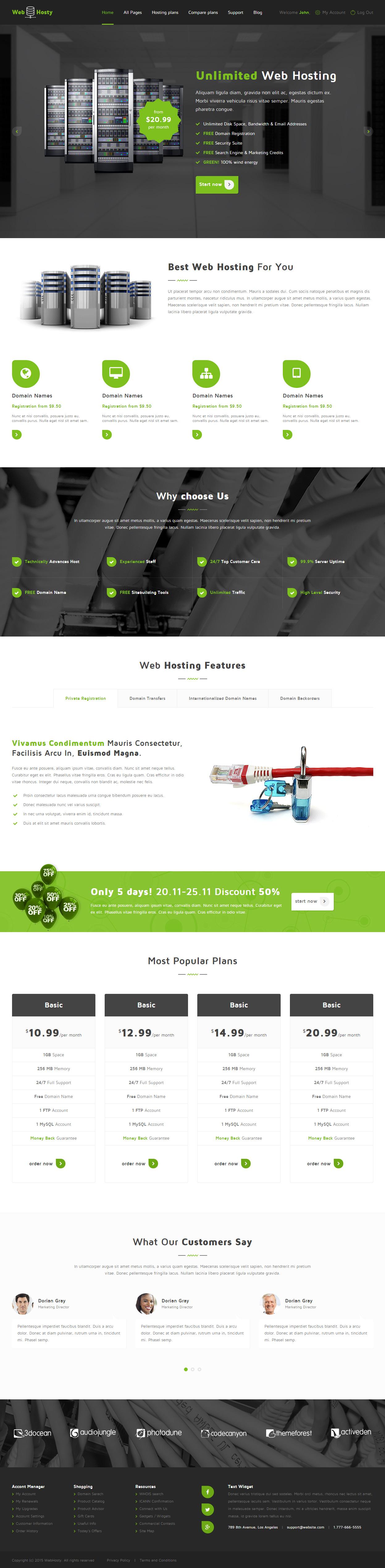 Atemberaubend Html5 Hosting Vorlage Bilder - Beispiel Business ...
