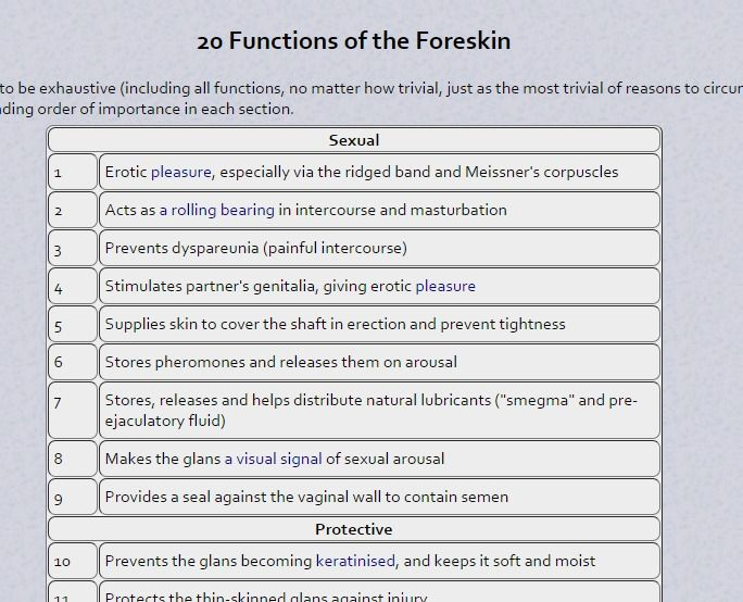 Functions Of The Foreskin Psychological Well Being Circumcision Breastfeeding Sons Breast