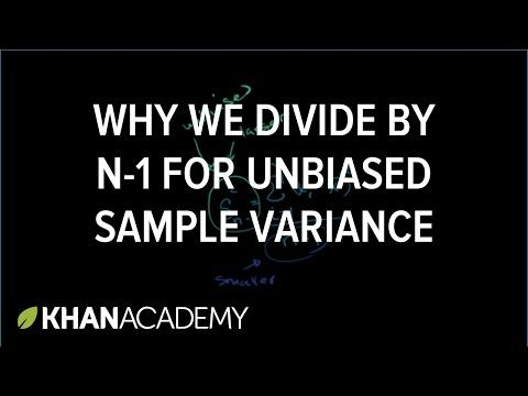Review and intuition why we divide by n-1 for the unbiased sample - sample variance