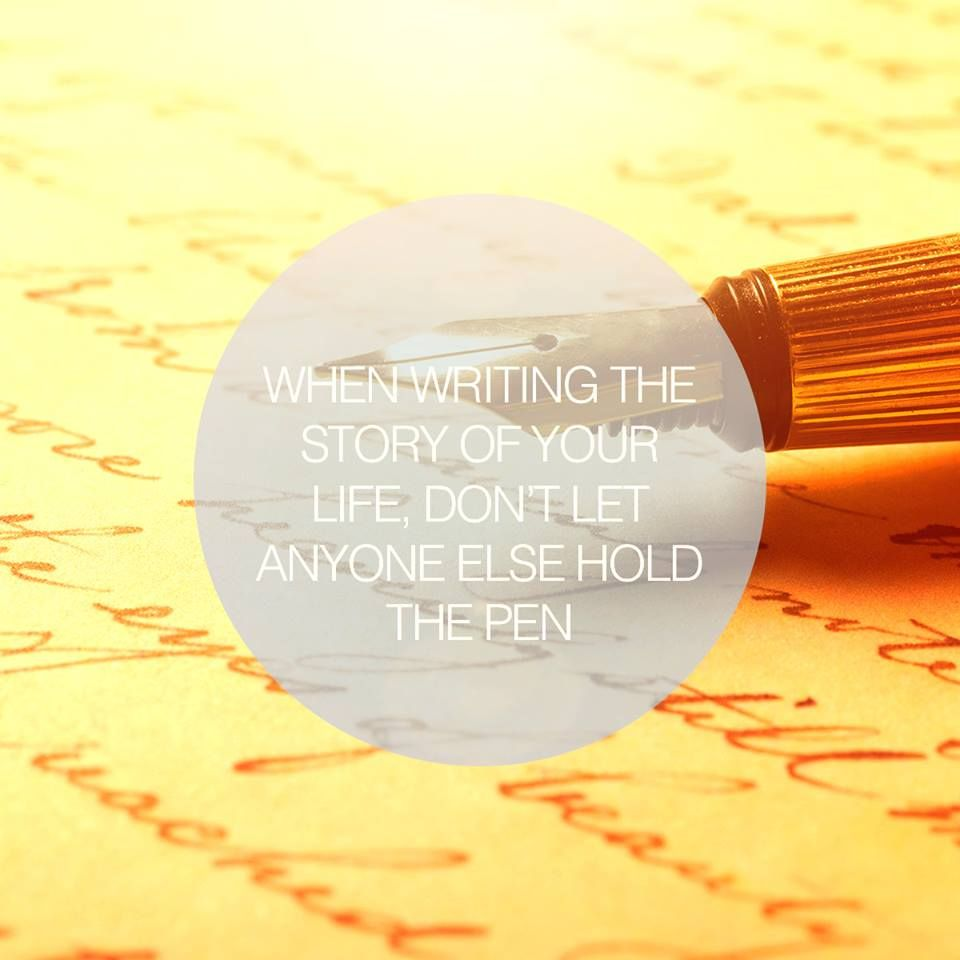 Writing Life's Story...