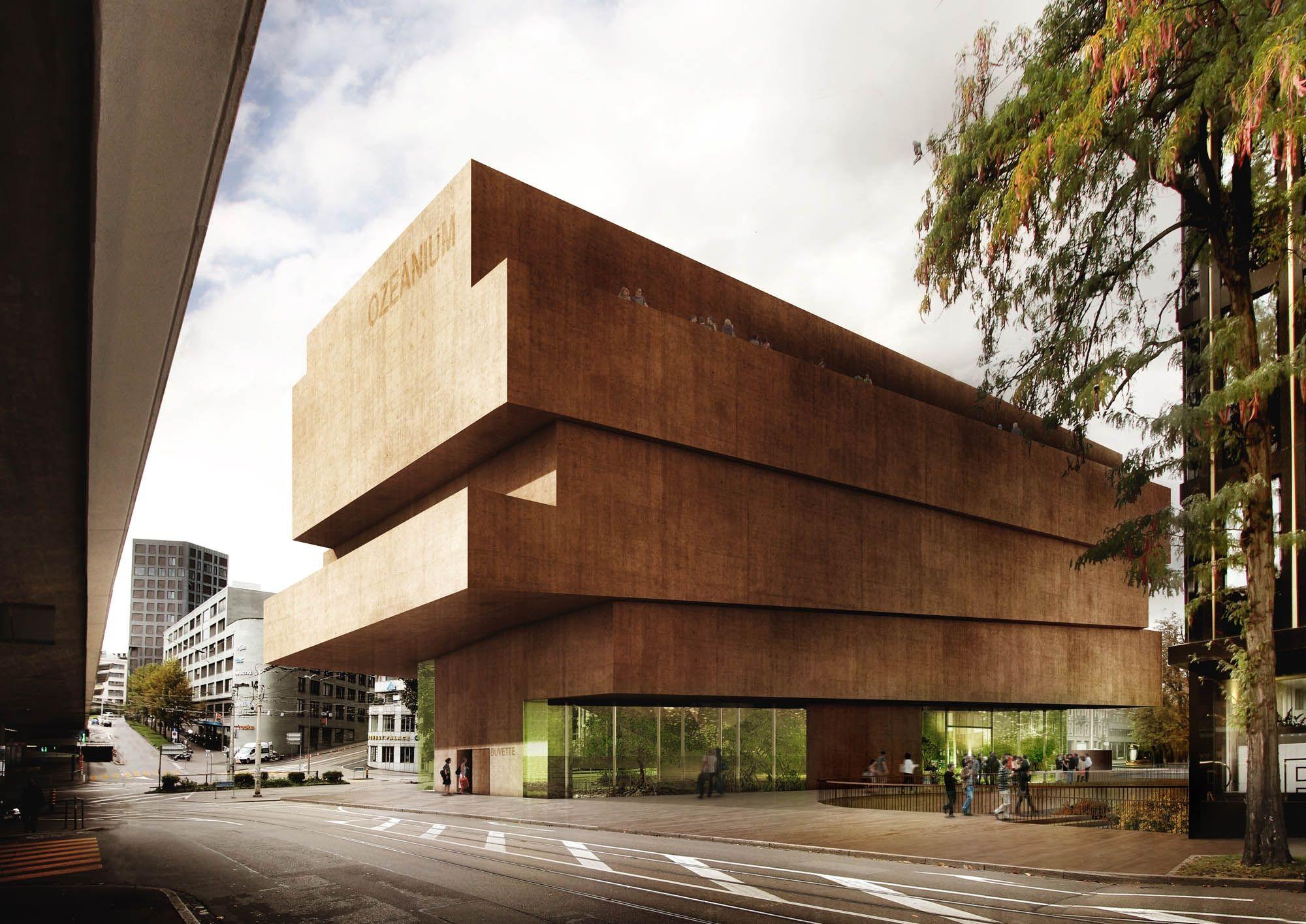 Morger dettli architekten for Raumgestaltung architektur