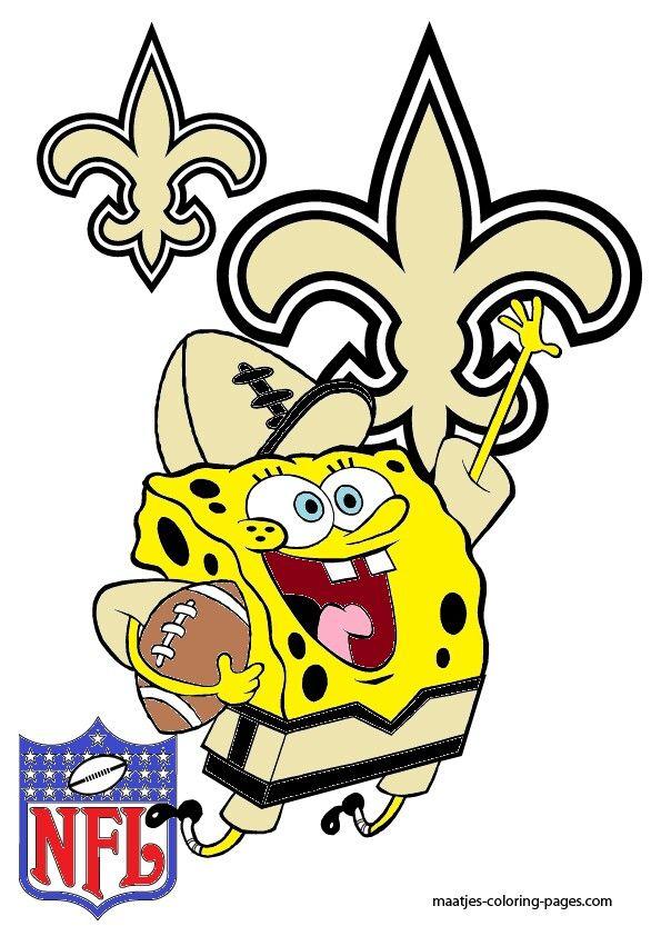 Saints Spongebob | My New Orleans Saints Diva Den | Pinterest ...