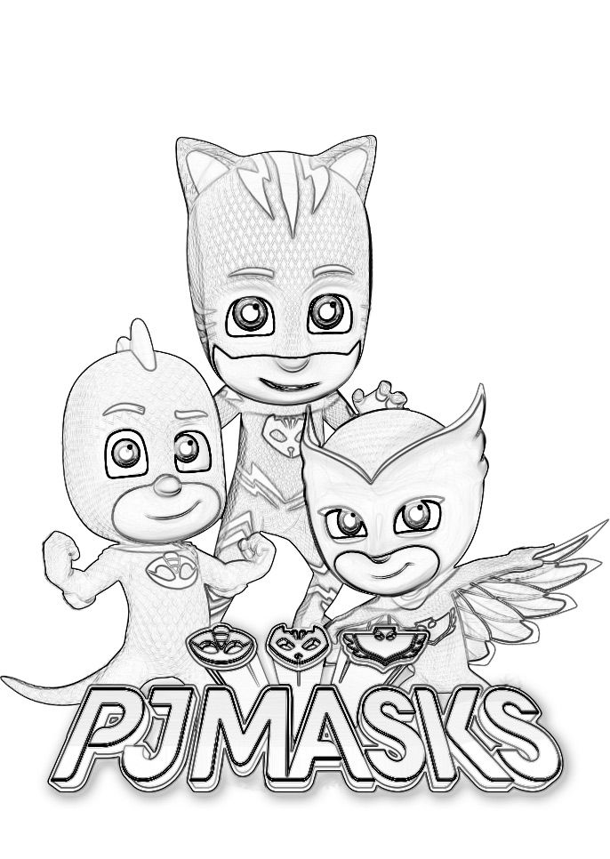 Pj Masks Coloring Pages Mask Party Amy Masquerade Ball