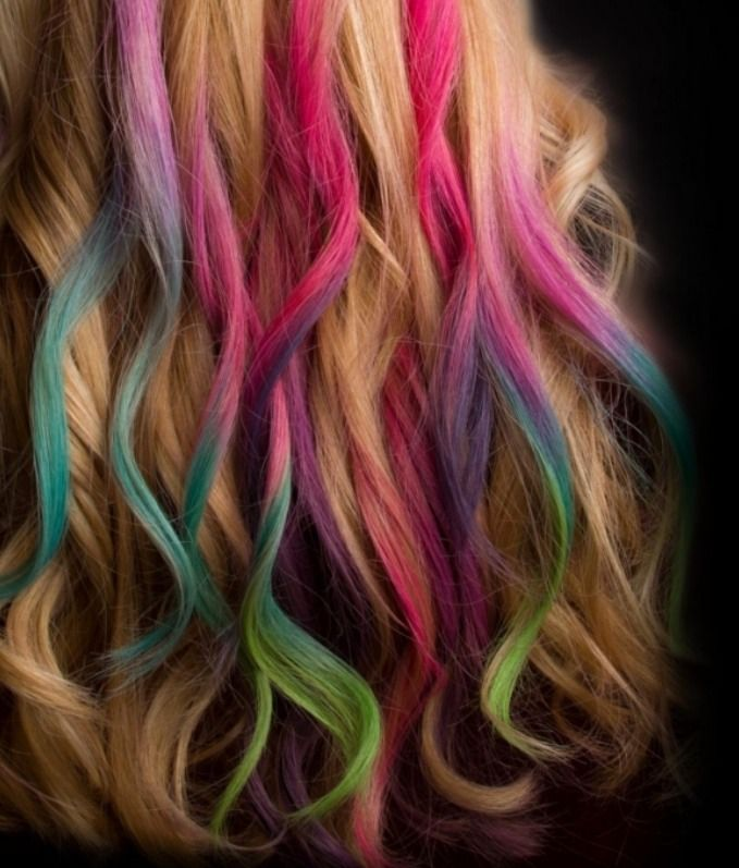 Chalk Hair Highlights Beauty Tips And Tricks Pinterest Chalked