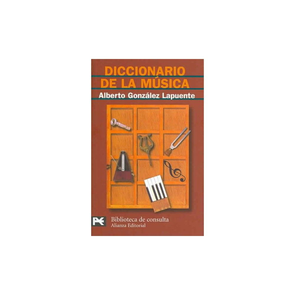 Diccionario de la musica/ Music Dictiona ( Biblioteca tematica/ Theme Library) (Paperback)