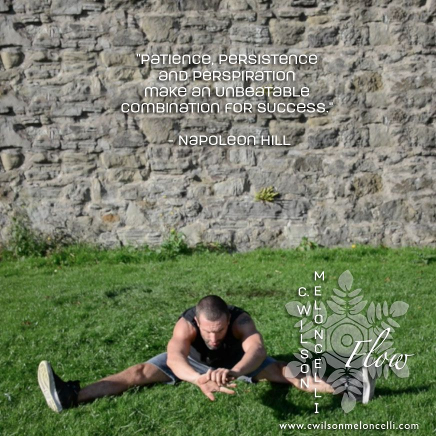 """""""Patience, Persistence and Perspiration make an unbeatable"""