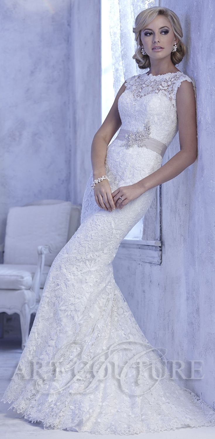 AC437 wedding dress from Art Couture. View more of our gorgeous ...