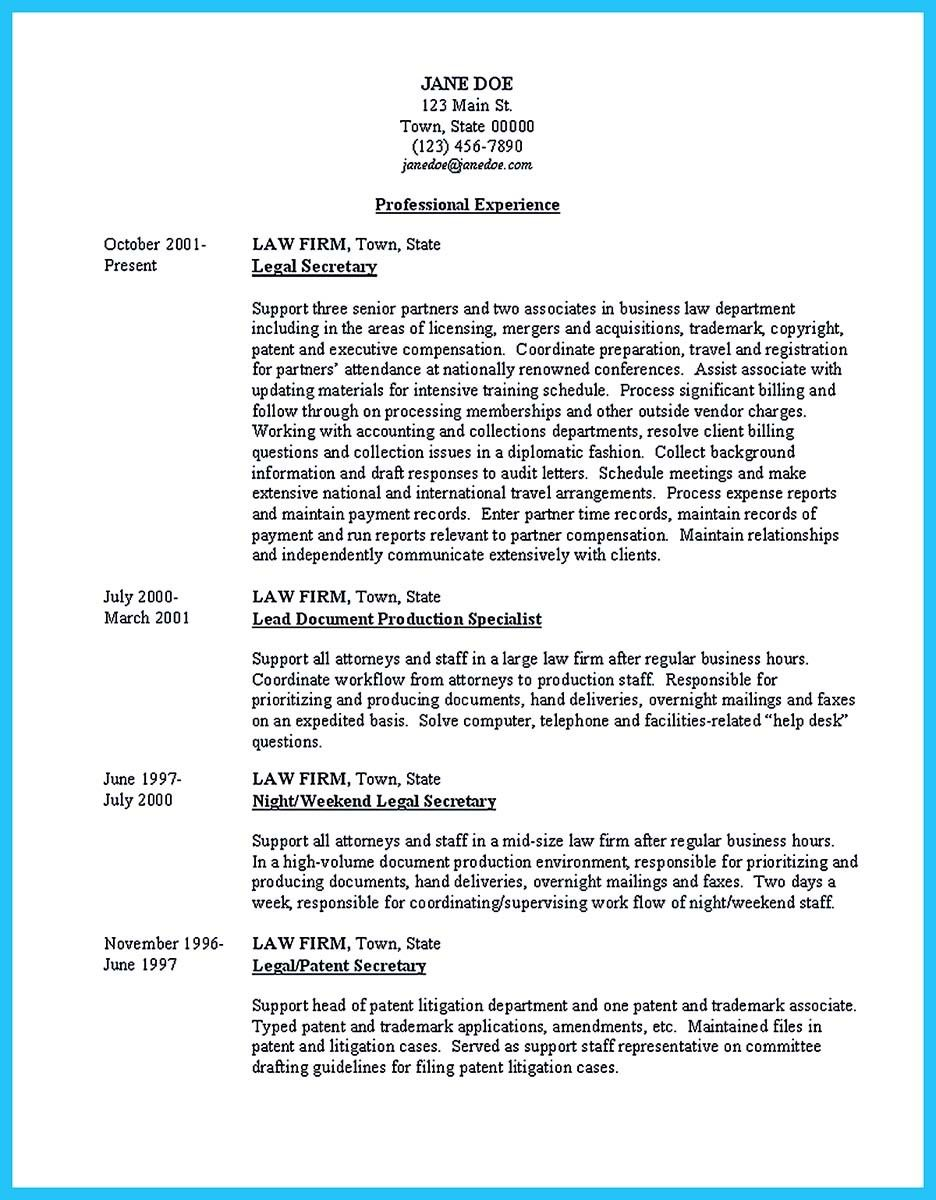 Cool Arranging A Great Attorney Resume Sample Resume