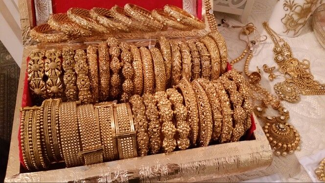 Antique style & Polki Bangle collection