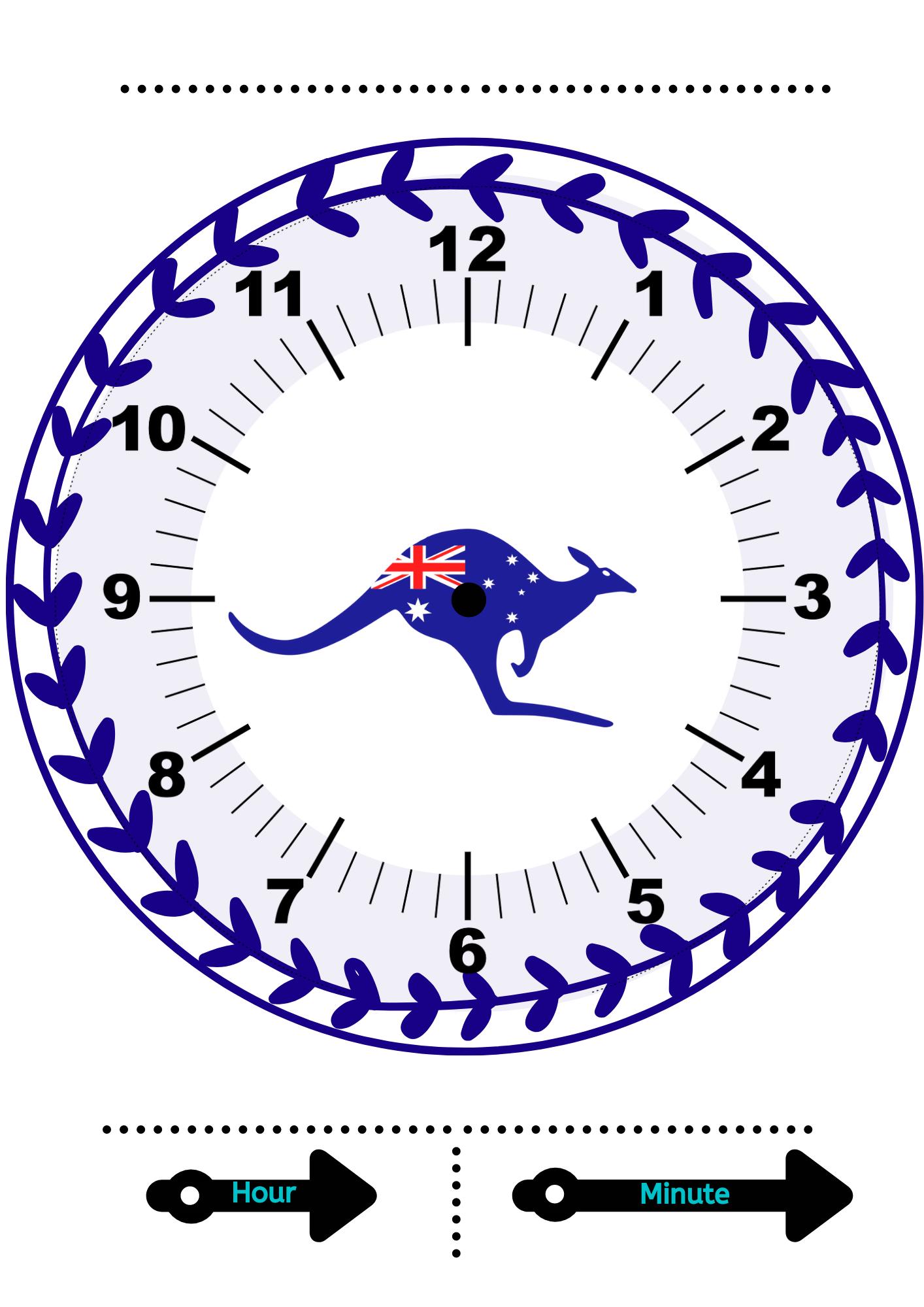 Telling Time Printables Free Printable Learning Clocks