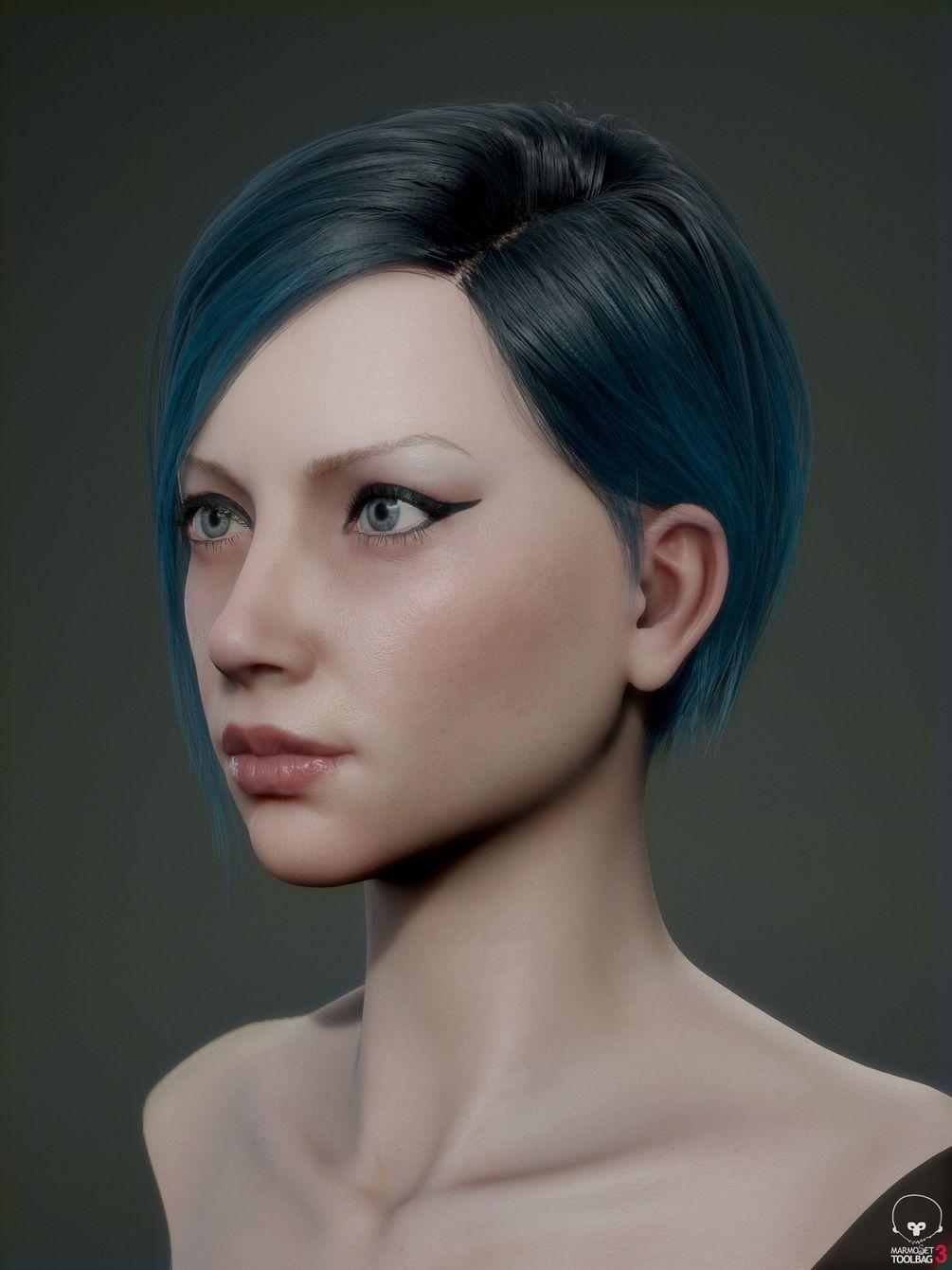 Real Time Hair Tutorial CG Tutorials Pinterest 3d Software
