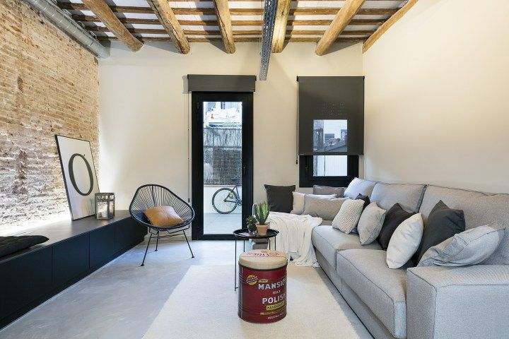 Buen diseño en Poblenou, Barcelona Decoracion pisos pequeños