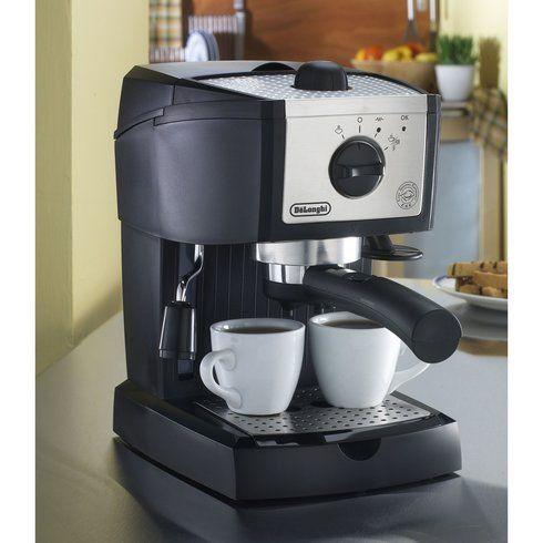 DeLonghi DeLonghi EC155 15 Bar Pump Espresso and Cappuccino Machine | Wayfair #automaticespressomachine